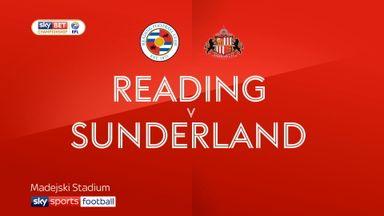 Reading 2-2 Sunderland