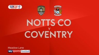 Notts County 2-1 Coventry