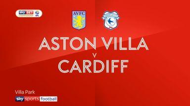 Aston Villa 1-0 Cardiff
