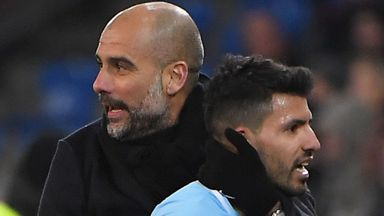 Pep: Aguero out of Spurs game