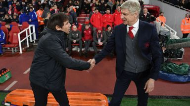 Conte: We must pay tribute to Wenger