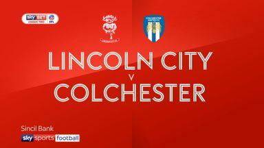 Lincoln 2-1 Colchester