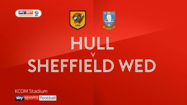 Hull 0-1 Sheffield Wednesday