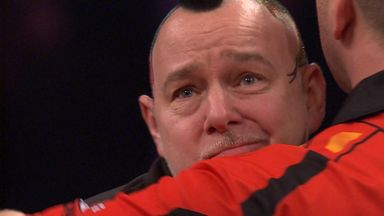 Wright emotional at Bristow's passing