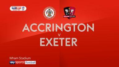 Accrington 1-1 Exeter