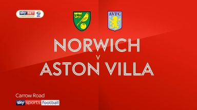 Norwich 3-1 Aston Villa