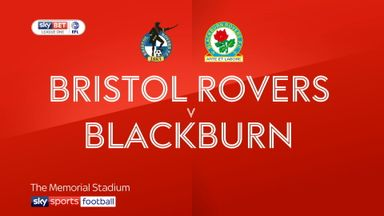 Bristol Rovers 1-1 Blackburn