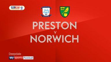 Preston 0-0 Norwich