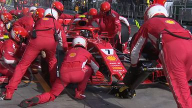 Ferrari's pit-stop analysed