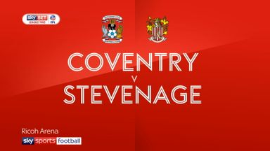 Coventry 3-1 Stevenage
