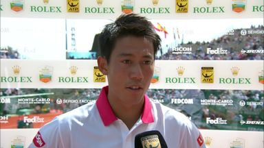 Nishikori: Good to have first clay victory