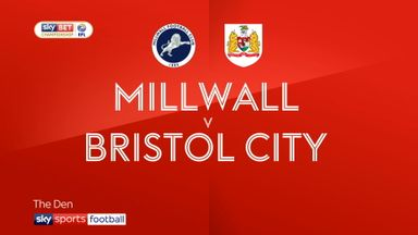 Millwall 2-0 Bristol City