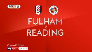 Fulham 1-0 Reading