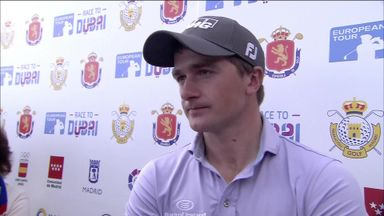 Dunne stays ahead in Madrid