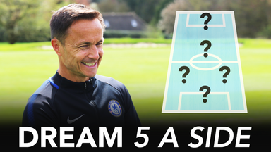Dennis Wise's dream 5-a-side team