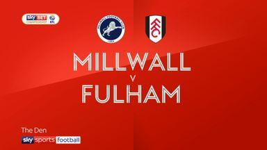 Millwall 0-3 Fulham