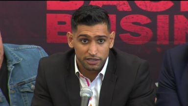 Khan: I've never felt better