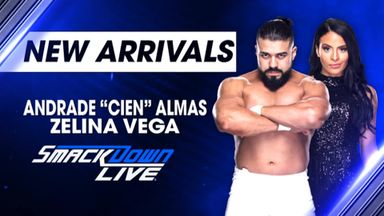 Andrade 'Cien' Almas called up to SmackDown