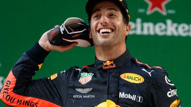 Where will Ricciardo be in 2019?