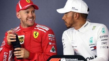 Vettel steps in to defend Hamilton