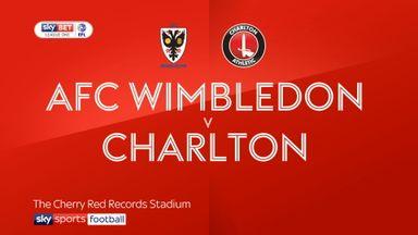 AFC Wimbledon 1-0 Charlton