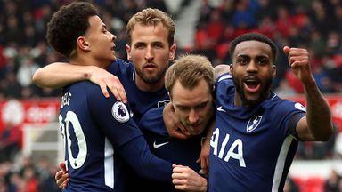 Stoke 1-2 Tottenham