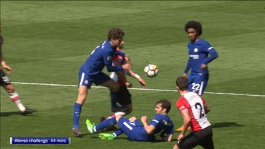Alonso lucky to escape red?