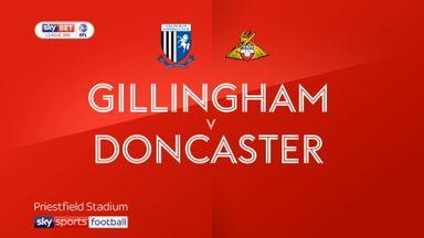 Gillingham 0-0 Doncaster