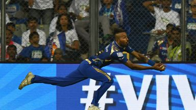 IPL: Pandya's leaping catch