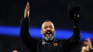 Is Nuno over-celebrating?