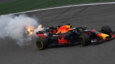 Ricciardo engine blows
