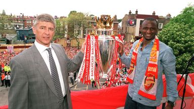 'I'd be delighted with Vieira at Arsenal'