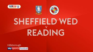 Sheffield Wednesday 3-0 Reading