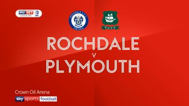 Rochdale 1-1 Plymouth