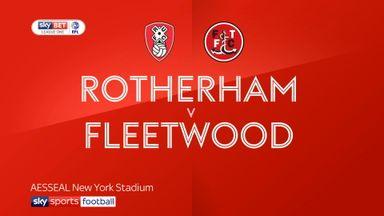 Rotherham 3-2 Fleetwood