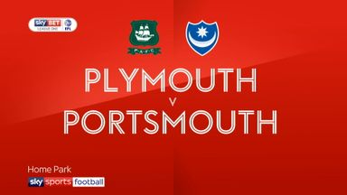 Plymouth 0-0 Portsmouth