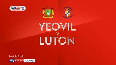 Yeovil 0-3 Luton
