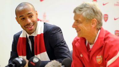 Henry: Wenger's legacy is untouchable