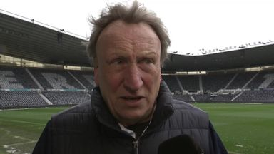 Warnock's Derby digs