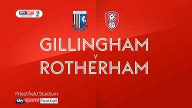Gilingham 0-1 Rotherham