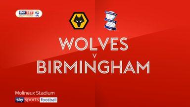 Wolves 2-0 Birmingham