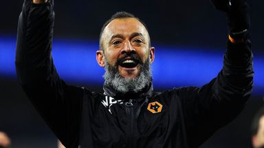 'Nuno has been superb'