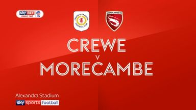 Crewe 1-0 Morecambe