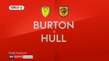 Burton 0-5 Hull