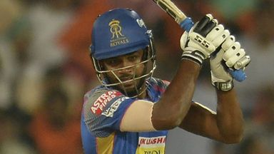 IPL: RCB v Rajasthan highlights