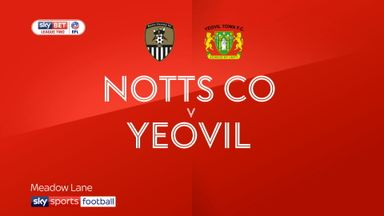 Notts County 4-1 Yeovil