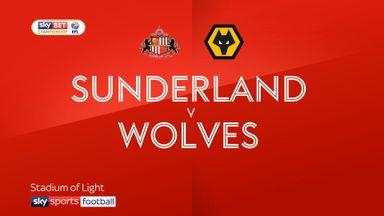 Sunderland 3-0 Wolves