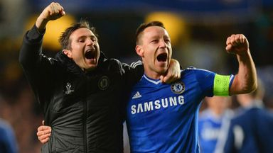 Lampard: No Terry talks yet