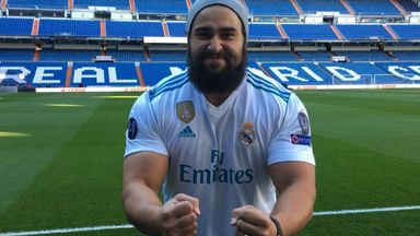 Rusev's love for Real Madrid