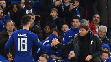 Giroud: Conte exit would be sad